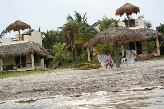 Hotel Maya Luna: Dal mare