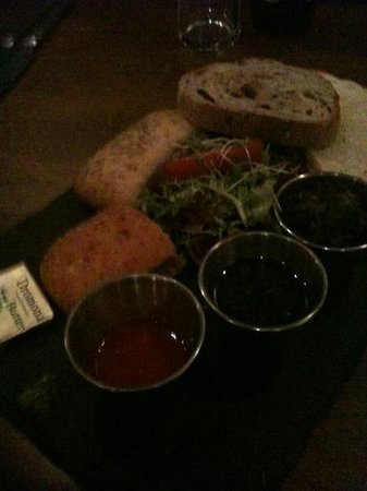 Thyme: look at this amazing bread starter!!