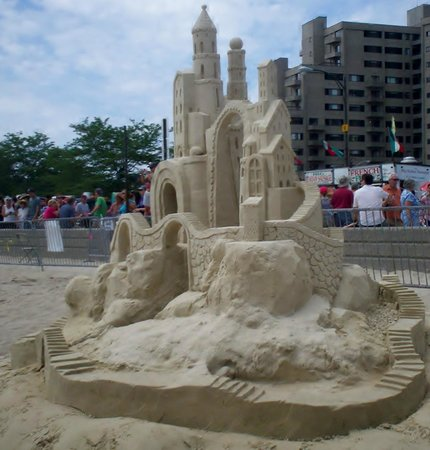 Revere Beach : If you're there during the sand sculpture competition, go!