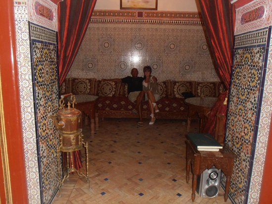 Riad Catalina : One of the ornate rooms