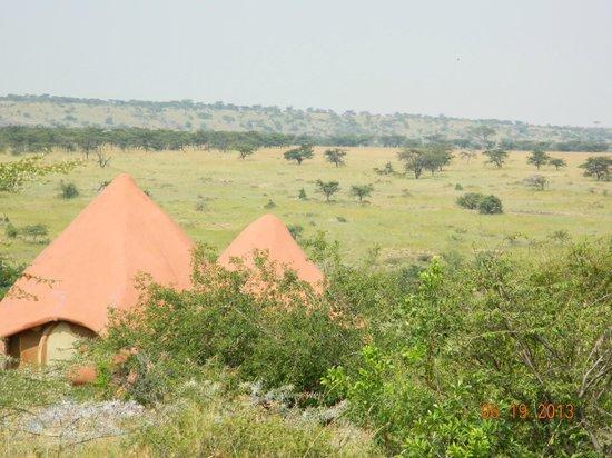 Amani Mara Camp : View