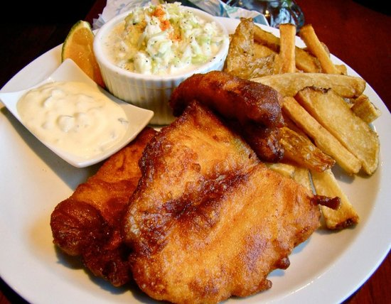 The Fish House: Regular Fish and Chips ($9.95)
