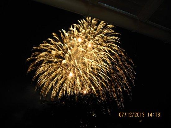 Hotel am Kureck: Fireworks over Lake Tegernsee During the Festival
