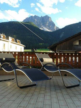 Hotel Mondschein: Terrasse