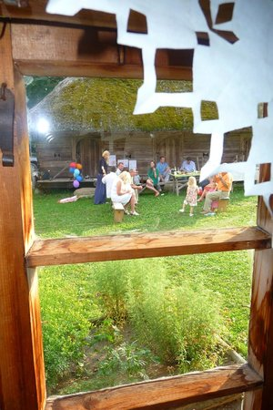 Rumsiskes Open-Air Museum: window view