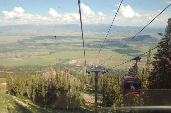 The Deck : View from the Bridger Gondola