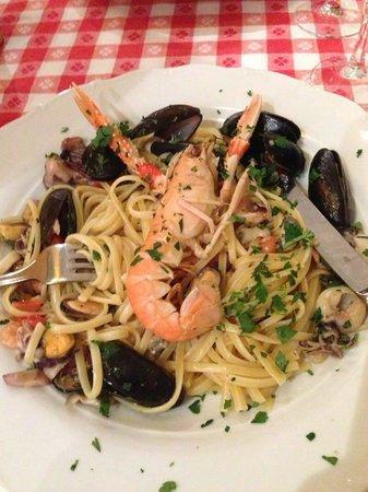 Via Napoli: Pasta with Seafood