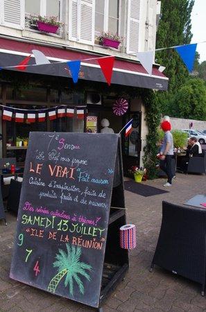 restaurant 7 eme Sens : L'ardoise