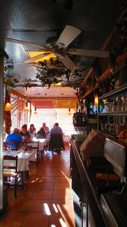 Cafe Baklava: Inside view