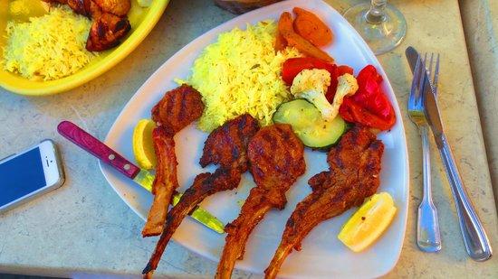 Cafe Baklava: Lamb chops