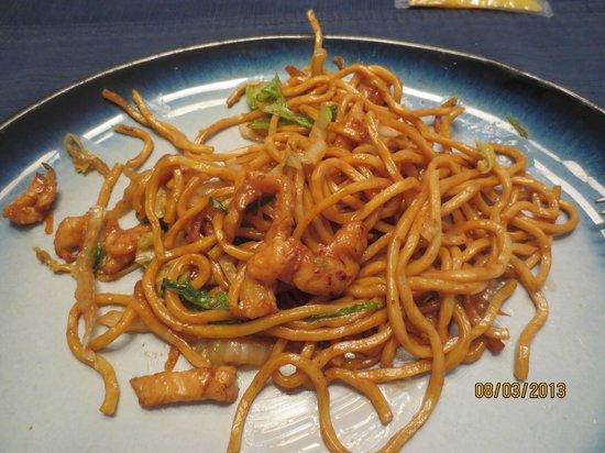 Hunan Wok II: chicken lo mein
