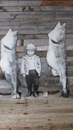 Battle Harbour Heritage Properties: Cod is God - from one of the exhibits