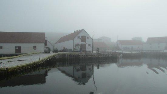 Battle Harbour Heritage Properties: leaving in the foggy foggy dew