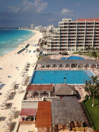 Crown Paradise Club Cancun: View from family suite
