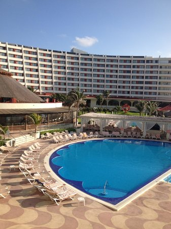 Crown Paradise Club Cancun: view from 2127