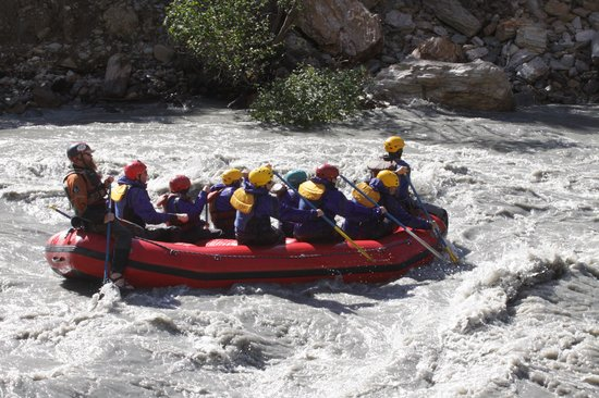 Denali Outdoor Center : Rafting the Nenana River
