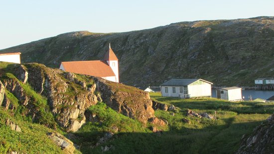 Battle Harbour Heritage Properties: Battle Harbour's St. James Church built in 1857