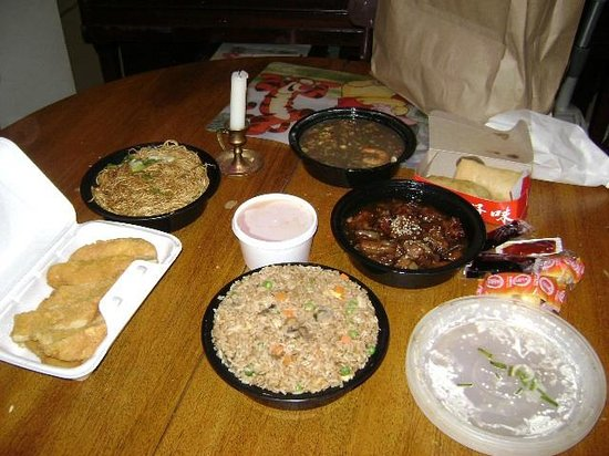 Forbidden City: $53.54 worth of food + tip=$60