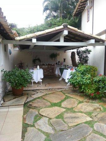 Vila Shalimar : Desayuno