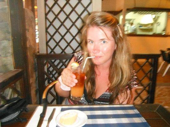 Le Taitu: Rum punch