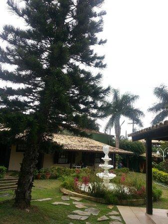Vila Shalimar: Jardin