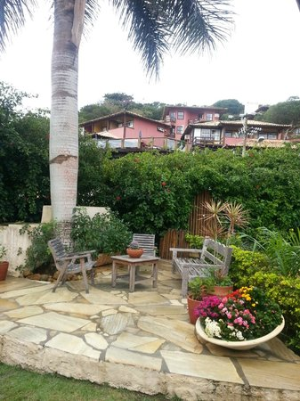 Vila Shalimar : Jardin