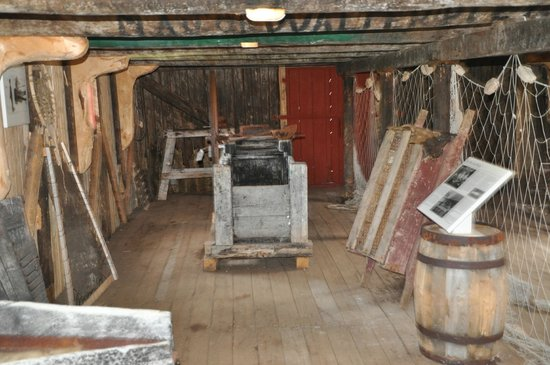 Battle Harbour Heritage Properties: sample of the many detailed displays
