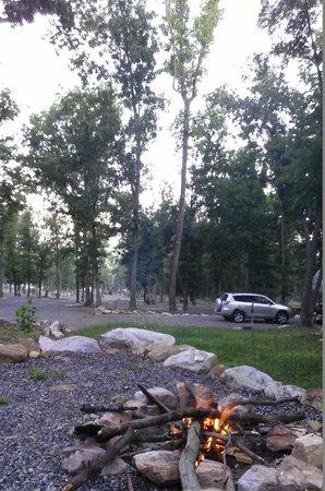 NASCAR RV Resorts at Endless Caverns: Campfire!