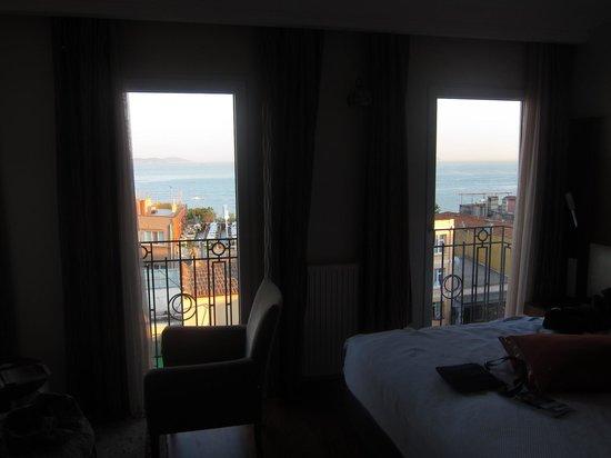 Aren Suites: View from room 502