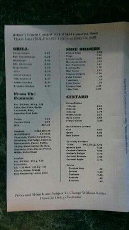 Hefner's Custard