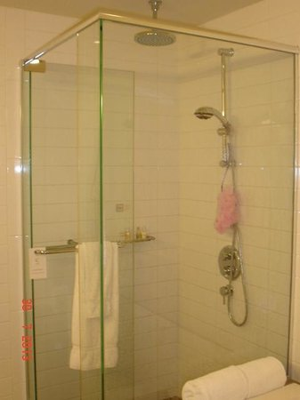 Hotel Le Crystal: Best hotel shower ever! suite 716