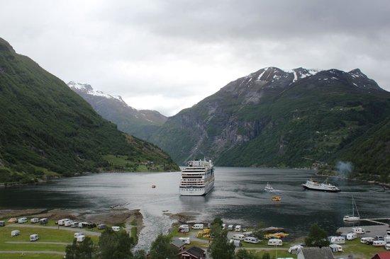Hotel Union Geiranger: vista do Geirangerfjord