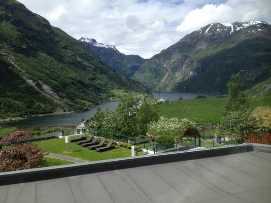 Hotel Union Geiranger: vista do quarto