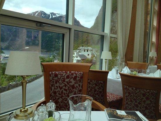 Hotel Union Geiranger: Restaurante