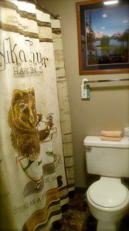 Mingo Motel: clean and presentable bathrooms