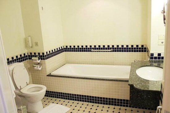 Swissotel Sydney: Bathroom (clean and strong shower)