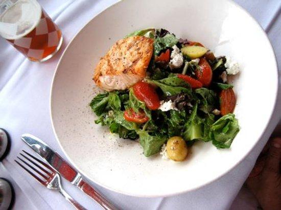 CIRCA at Dupont: Salmon salad