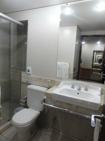 Mercure Hotel Curitiba Centro: Toalete