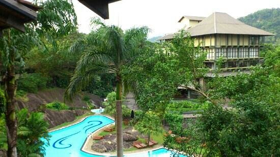 Earl's Regency: View from room at 2nd floor