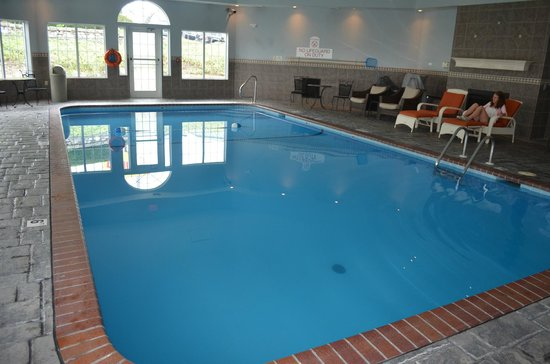 Indoor Pool Picture Of Hotel Grand Victorian Branson