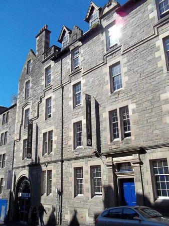 Safestay Edinburgh : Fachada do Hostel