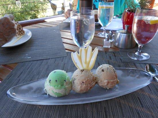 The Glitretind Restaurant: Dessert