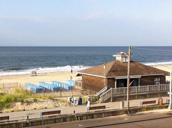 Sea Crest Inn: 4th floor view
