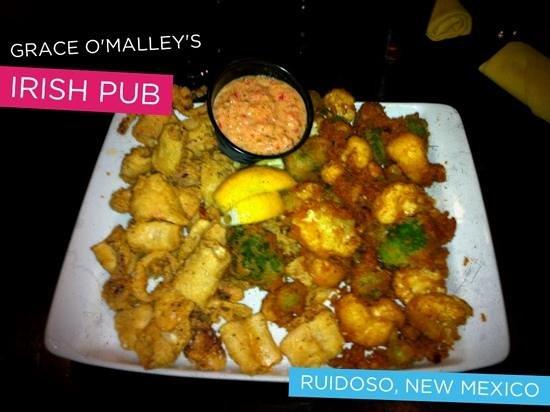 Grace O'Malley's Irish Pub: Calamari