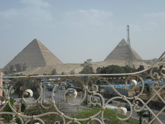Cairo Pyramids Hotel: Look at this view!