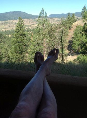 High Chaparral Guest House: relaxation and the view