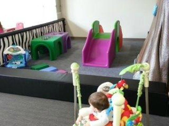 Lil' Monkey's Treehouse Indoor Playground : Baby area