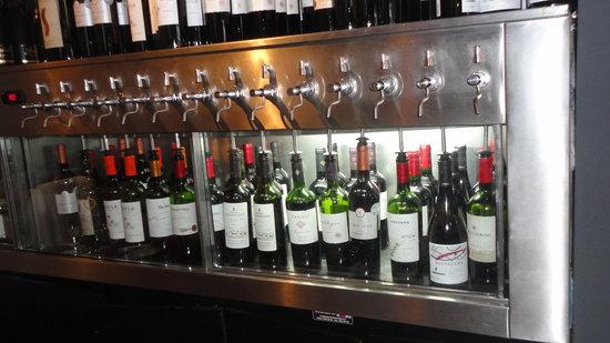 Casa Lastarria: Sistema de sucção de vinho