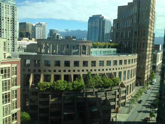 Rosedale on Robson: View from our bedroom
