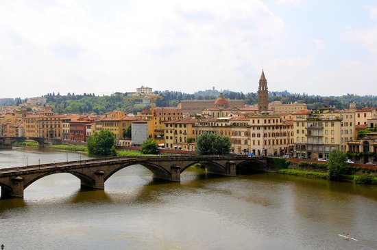 The Westin Excelsior Florence: View from balcony